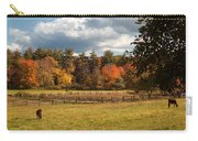Grazing On The Farm Carry-all Pouch by Joann Vitali