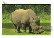 Grazing Rhino Carry-all Pouch