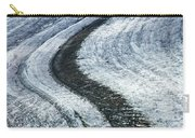 Great Aletsch Glacier Moraine Carry-all Pouch