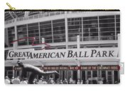 Great American Ball Park And The Cincinnati Reds Carry-all Pouch