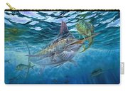 Great Blue And Mahi Mahi Underwater Carry-all Pouch