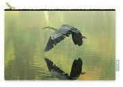Great Blue Fly-by Carry-all Pouch