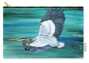 Great Blue Heron-3a Carry-all Pouch