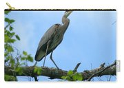 Great Blue Heron Afternoon Fishing  Carry-all Pouch