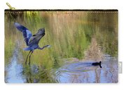 Great Blue Heron And Coot Carry-all Pouch