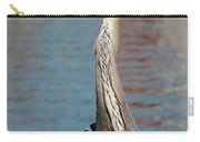 Great Blue Heron By The Water Carry-all Pouch