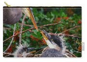 Great Blue Heron Family Carry-all Pouch