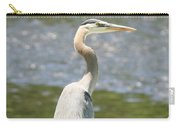 Great Blue Heron In Light  Carry-all Pouch