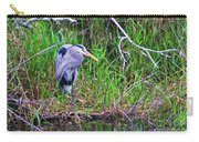 Great Blue Heron In Nature Carry-all Pouch