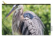 Great Blue Heron Iv Carry-all Pouch