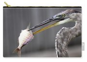 Great Blue Heron - Just Fred Carry-all Pouch