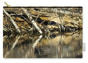 Great Blue Heron Reflection Carry-all Pouch