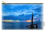 Great Blue Heron Sunrise Carry-all Pouch