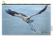 Great Blue Heron Take Off Carry-all Pouch