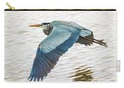 Great Blue Heron Taking Flight Carry-all Pouch
