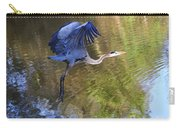 Great Blue Heron Taking Off Carry-all Pouch