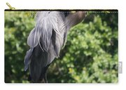 Great Blue Heron Vii Carry-all Pouch