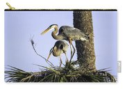 Great Blue Herons Nesting Carry-all Pouch