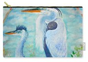 Great Blue Herons Seek Freedom Carry-all Pouch