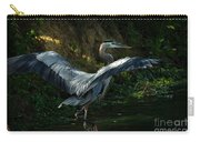 Great Blue Herron Carry-all Pouch