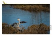 Great Blue Landing Carry-all Pouch