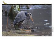 Great Blue On The Clinch River II Carry-all Pouch