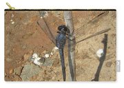 Slaty Skimmer Dragonfly Shadow Carry-all Pouch