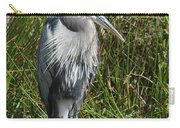 Great Blue Waiting For Prey Carry-all Pouch