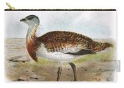 Great Bustard Carry-all Pouch