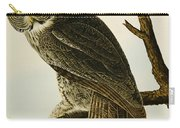 Great Cinereous Owl Carry-all Pouch