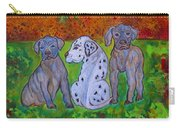 Great Dane Pups Carry-all Pouch