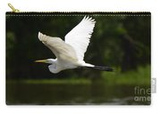 Great Egret Amazon River Carry-all Pouch