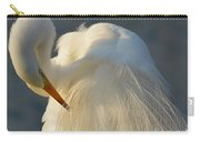 Great Egret Grooming Carry-all Pouch