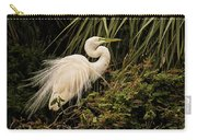 Great Egret In Breeding Plumage Carry-all Pouch