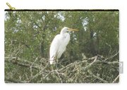 Great Egret Lookout Carry-all Pouch