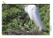 Great Egret Nest Carry-all Pouch