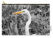 Great Egret Poster Carry-all Pouch
