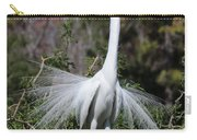 Great Egret Showoff Carry-all Pouch