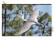 Great Egret Spirit Carry-all Pouch