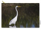 Great Egret Standing Out Carry-all Pouch