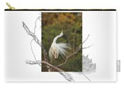 Great Egret - Stretch Carry-all Pouch