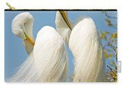 Great Egrets At Nest Carry-all Pouch
