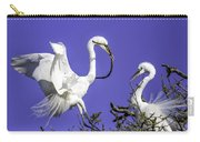 Great Egrets Nesting Carry-all Pouch