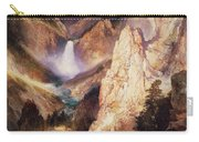 Great Falls Of Yellowstone Carry-all Pouch