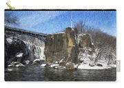 Great Falls Painted Carry-all Pouch