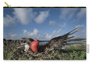 Great Frigatebird Female Eyes Courting Carry-all Pouch