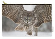 Great Gray Owl Pictures 634 Carry-all Pouch