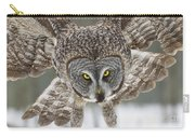 Great Gray Owl Pictures 648 Carry-all Pouch