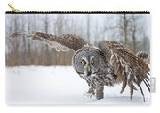 Great Gray Owl Pictures 658 Carry-all Pouch