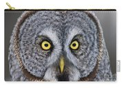 Great Gray Owl Pictures 680 Carry-all Pouch